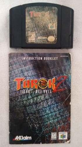 Video Juego Para Nintendo 64 Turok 2