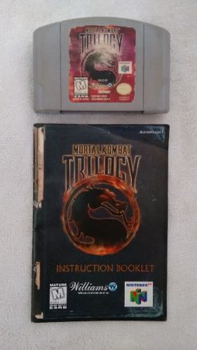 Video Juego Para Nintendo 64 (mortal Komba Trilogy)