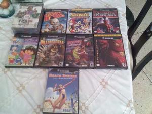 ¡remate! Juegos De Nintendo Gamecube Originales