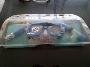 Careta Snorkel Visor Tubo Buceo Snorkeling U.s. Divers Agua