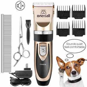 Maquina De Afeitar Canina Oneisall - Recargable