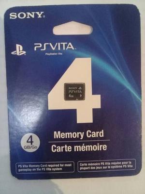 Memoria Ps Vita 4gb