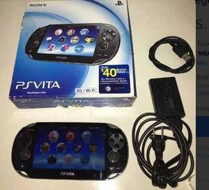 Playstation Vita + Fifa Original + Memoria 4gb