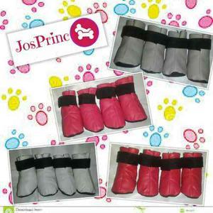 Zapatos Para Perros En Semi-cuero Ropa Para Perros