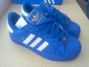 Zapatos adidas Super Star Caballero Talla 40 A La 43