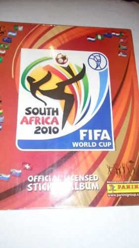 Album De Coleccion Panini Mundial South Africa