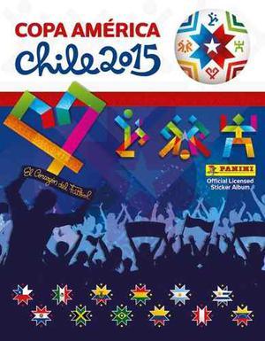 Barajitas Del Álbum Panini De La Copa América Chile
