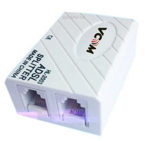 Filtro Splitter Telefono Modem, Tienda Fisica