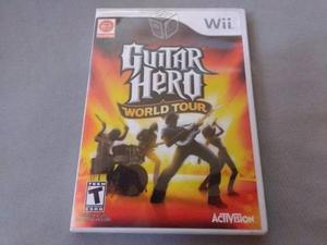Guitar Hero World Tour Wii Vendo O Cambio.