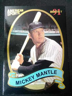 Mickey Mantle American Sports Monthly 91. Especial #a.s.m.29