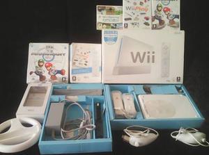 Nintendo Wii Blanco Sports Sin Chipear Controles Juegos Orig