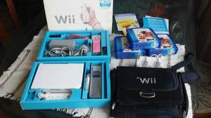 Nintendo Wii Chipeado + Estuche + 2 Controles + 60 Juegos ++