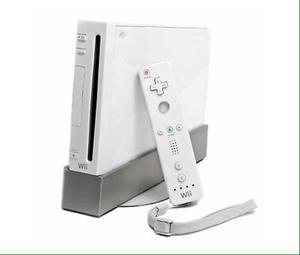 Nintendo Wii Con Accesorios Y Juegos