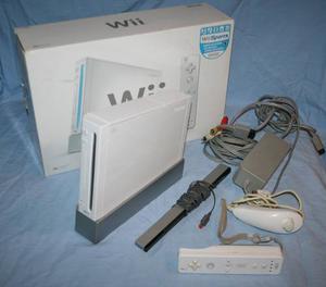 Nintendo Wii Con Todos Sus Accesorios +juegos (Oferta)