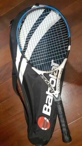 Raqueta De Tennis Babolat Con Su Forro Y Pote Pelotas Nuevas