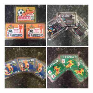 Sobres Panini Mundial De Futbol Todos Los Mundiales