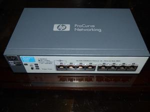 Switch Hp Networking 8 Puertos Procurve Rsvlc- (ja)
