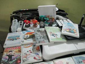 Vendo Nintendo Wii Chipeado Con Juegos Y Accesorios
