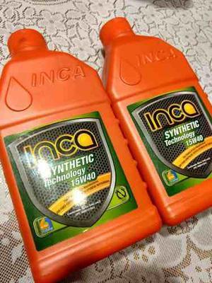 Aceite Inca Semi Sintetico 15w 40, Nuevo Y Sellado.