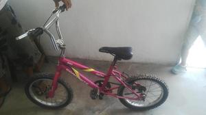 Bicicleta De Niña Rin 16 Marca Corrente