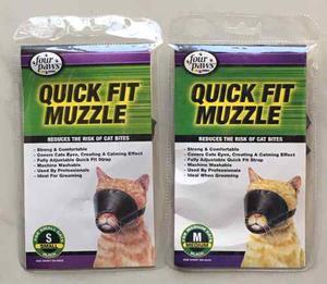 Bozales Para Gatos Four Paws (Set De 2 Piezas)