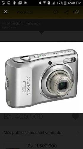 Camara Digital Nikon Casi Nueva Con Todos Sus Accesorios