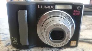 Camara Panasonic Lumix Usada De 10 Mp Usa Baterías Doble Aa