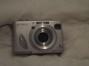 Camara Sony Cibershot Disc Usada
