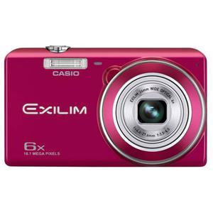 Cámara Casio Ex-zs Mp Zoom 6x Color Rojo