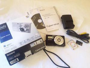 Cámara Digital Sony Cyber-shot Dsc-w320, Con Accesorios