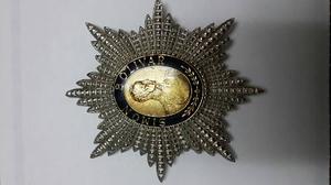 Estrella De La Orden Del Libertador Gran Oficial 2da.clase