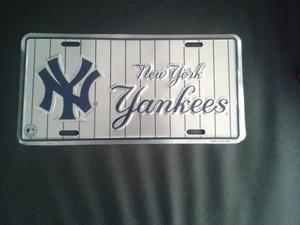 Placa Decorativa Importada New York Yankees