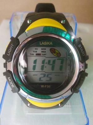 Relojes Digitales Para Niños Y Adultos.. A Prueba De Agua..