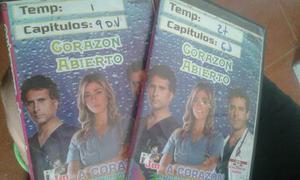 Serie De A Corazon Abierto 1° Y 2° Temporada