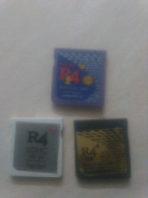 Tarjetas R4 Sin Memoria