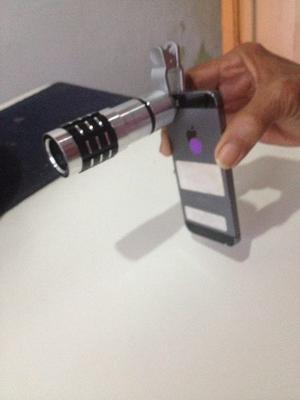 Vendo Lente De Teléfono Móvil De Aumento Óptico Usado