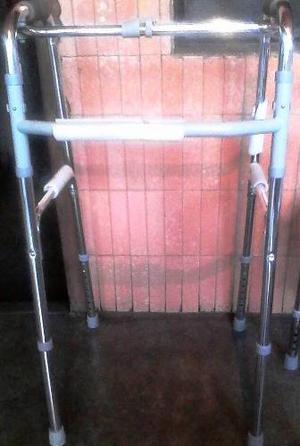 Andadera Adultos Discapacitados Resistente Plegable Aluminio
