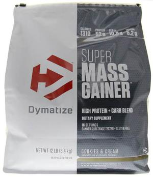 Dymatize Super Mass Gainer Cookies And Cream 12lb