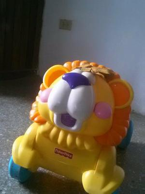 Hermoso Leon De Fisher Price 2 En 1