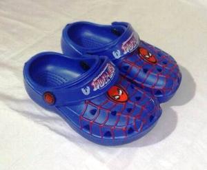 Sandalias Para Niños De Spiderman