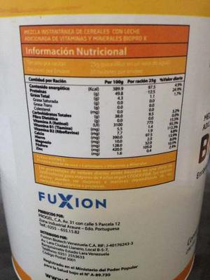 Vaso Proteína Biopro X De Fuxion De 500 Grs