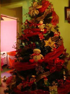 Arbolito De Navidad Grande 2.20 Mts Frondoso
