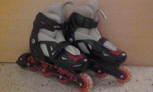 Patines Hot Wheels Con Kit De Proteccion