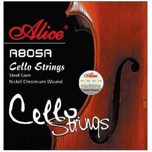 Set De Cuerdas Para Cello Marca Alice A805