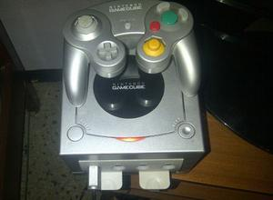 Nintendo Game Cube Chipeado Con Lector Juegos Via Microsd