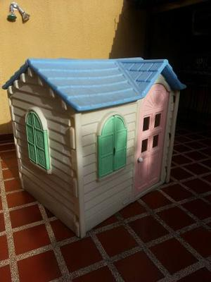 Casa De Juegos De Plástico Para Niños Y Niñas Little