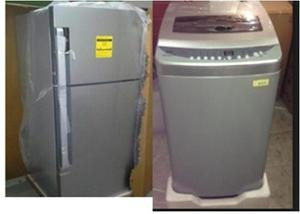 Combo Nevera De 19`+lavadora Automatica Nueva Por 90 Milones
