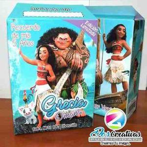 Cotillones Infantiles Tipo Cajita Personalizados En Opalina