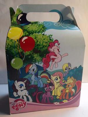 Cotillones Tipo Cajita Feliz Lonchera My Little Pony