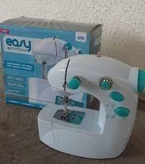 Maquina De Coser Easy Stitch Poco Uso Solo Prueba Oferta